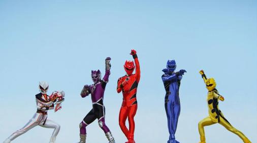 ゴーカイジャー ゴセイジャー スーパー戦隊199ヒーロー大決戦 主題歌 「スーパー戦隊 ヒーローゲッター〜199Ver,」 2007 獣拳戦隊ゲキレンジャー