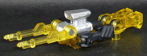 アームズマイクロン オートボット ファイアーボルト クリアイエローVer, ロボットウェポンモード