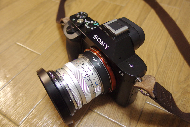 SONY α7 With Carl Zeiss T* Biogon 28mm F2.8 (ZM)