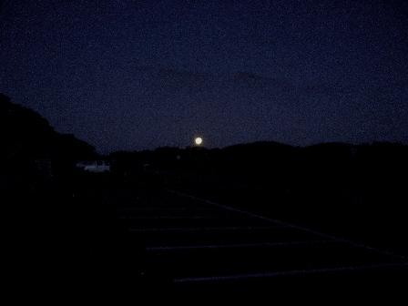 1まだ暗い牧ノ戸駐車場 CIMG0126