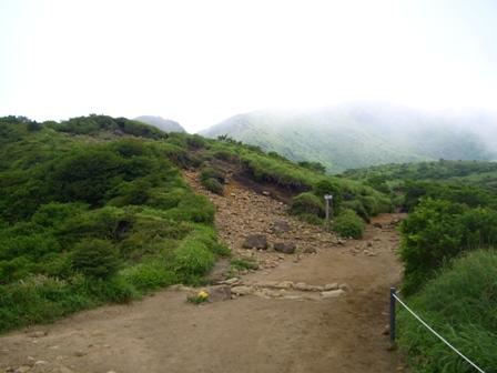 4星生山への分岐点 CIMG0427