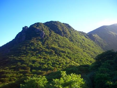 5星生山への尾根の入り口 CIMG0155