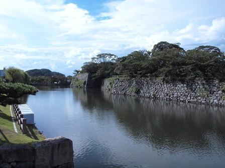 5姫路城の堀