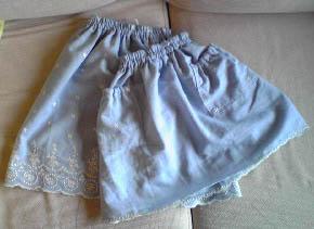 手作りスカート4