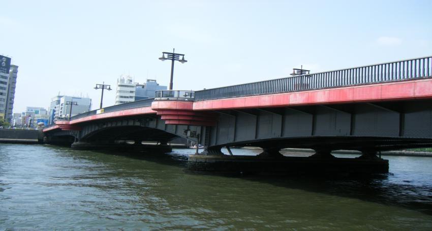 新しいイメージ両国橋