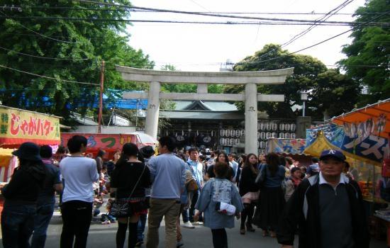 新しいイメージ 下谷神社祭