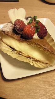 Y川さんのケーキ