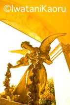 『Talking with Angels』西洋墓地の天使像 : 岩谷薫-08_12_24_記事