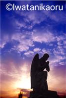 $『Talking with Angels』西洋墓地の天使像 : 岩谷薫-10_3_24
