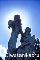 $『Talking with Angels』西洋墓地の天使像 : 岩谷薫-10_5_10