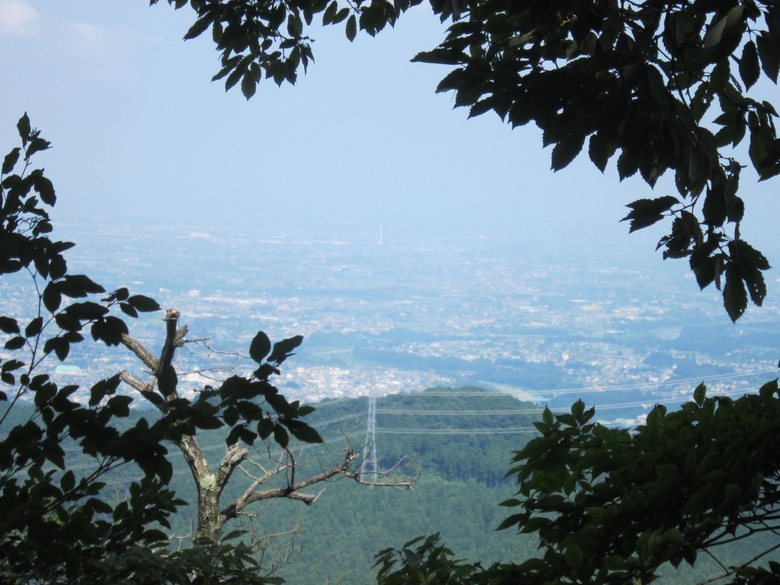 釜伏山頂からの景色