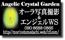 プチ癒しフェスタ公式ブログ-オーラ写真 エンジェリッククリスタルガーデン