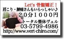 プチ癒しフェスタ公式ブログ-トータル整体 ヴェル