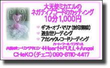 プチ癒しフェスタ公式ブログ-ネガティブコードカッティング CHEKO