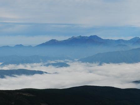 大川嶺近辺 雲海 1