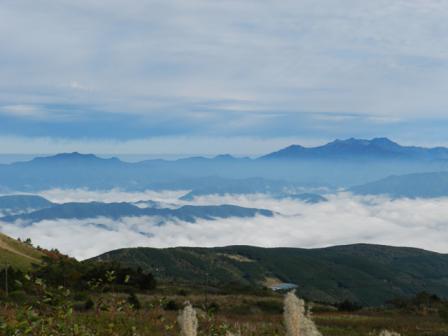 大川嶺近辺 雲海 2