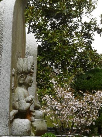 西法寺にて 2