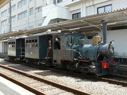 伊予鉄道 坊っちゃん列車 2