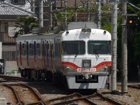 伊予鉄道125周年記念電車 「だんだん125 (ワン・ツー・号)」 2