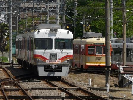 伊予鉄道125周年記念電車 「だんだん125 (ワン・ツー・号)」 3