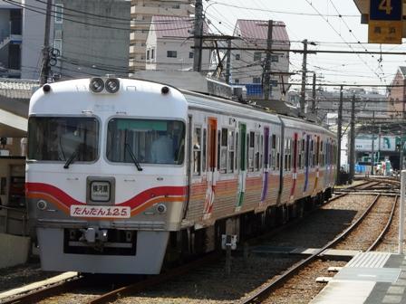 伊予鉄道125周年記念電車 「だんだん125 (ワン・ツー・号)」 7