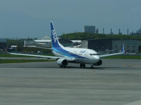 松山空港 ボーイング737-700