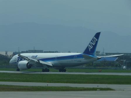 松山空港 ボーイング787-8 ドリームライナー 2