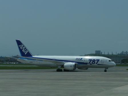 松山空港 ボーイング787-8 ドリームライナー 3