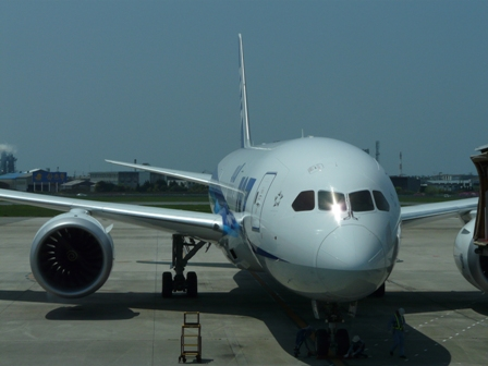 松山空港 ボーイング787-8 ドリームライナー 5