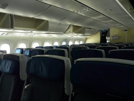 松山空港 ボーイング787-8 ドリームライナー 7