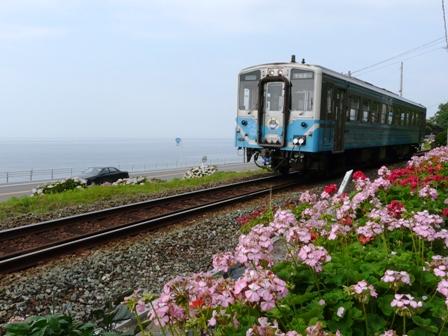 キハ54形気動車 JR喜多灘駅付近