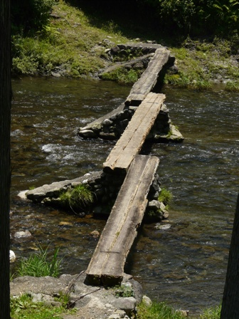 沈下橋 早瀬の一本橋 3