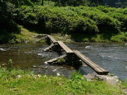 沈下橋 早瀬の一本橋 4