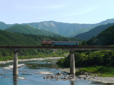 トロッコ列車 「清流しまんと号」 2