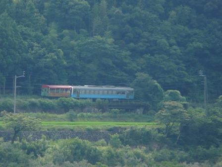トロッコ列車 「清流しまんと号」 4