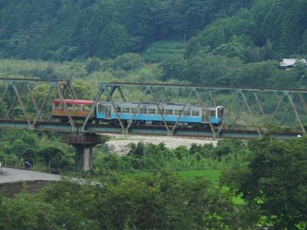 トロッコ列車 「清流しまんと号」 5