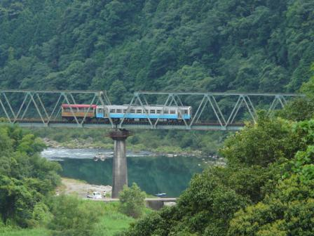 トロッコ列車 「清流しまんと号」 6