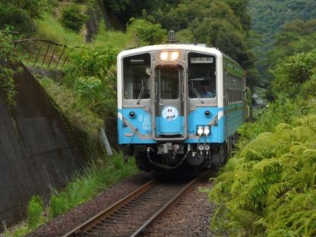トロッコ列車 「清流しまんと号」 7