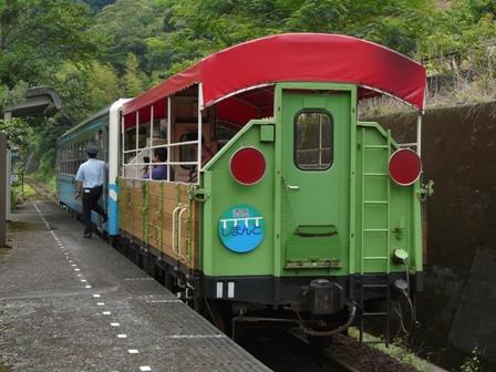 トロッコ列車 「清流しまんと号」 8