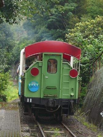 トロッコ列車 「清流しまんと号」 9