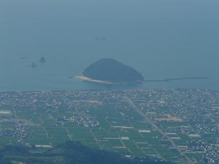 高縄山 展望台からの眺望 2