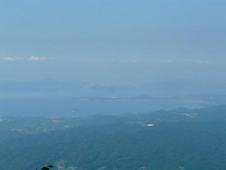 高縄山 展望台からの眺望 3
