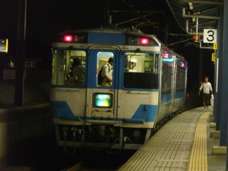 坂出駅 キハ185系気動車 「特急 いしづち」