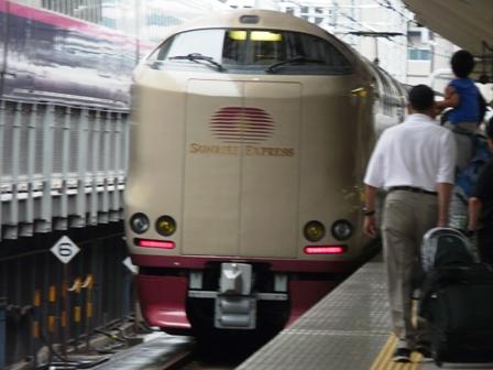 東京駅 サンライズ瀬戸・出雲 285系電車 3