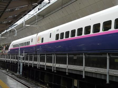東京駅 JR東日本 E2系新幹線