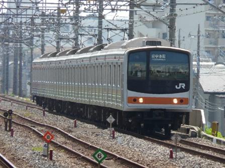 JR南流山駅 205系電車