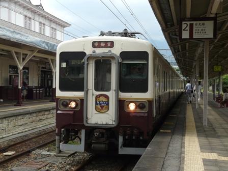 JR日光駅 107系電車 2