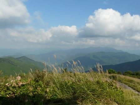 塩塚高原展望台から 3