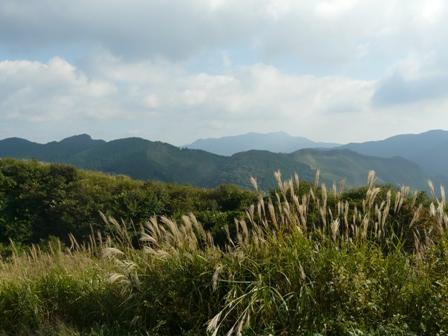 塩塚高原展望台から 4
