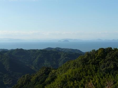 伊予市平岡からの眺め 1